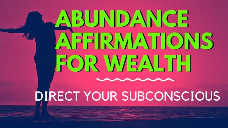 abundance affirmations morning series ep1 featured image