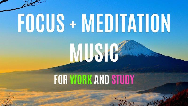 background meditation music for work and studying featured image
