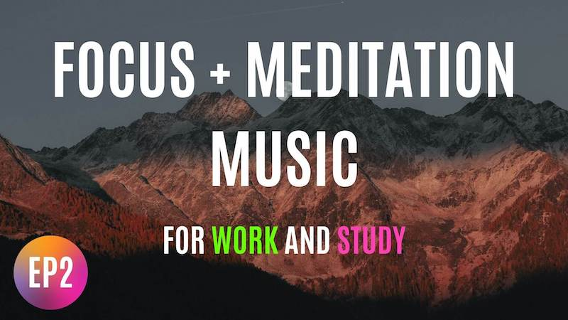 background meditation music while working ep2 featured image