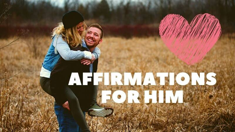 Affirmations for him featured image