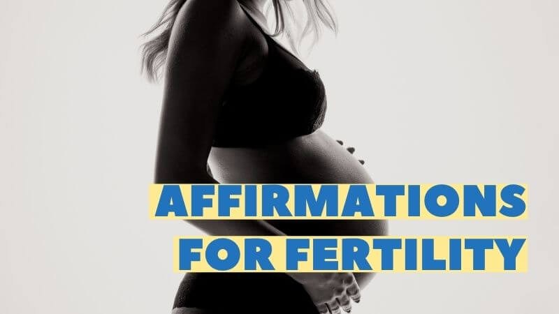 affirmations for fertility featured image