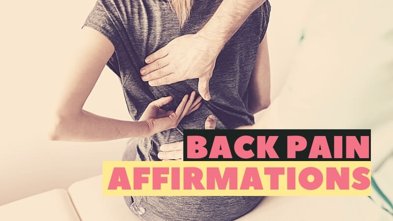 back pain affirmations featured image