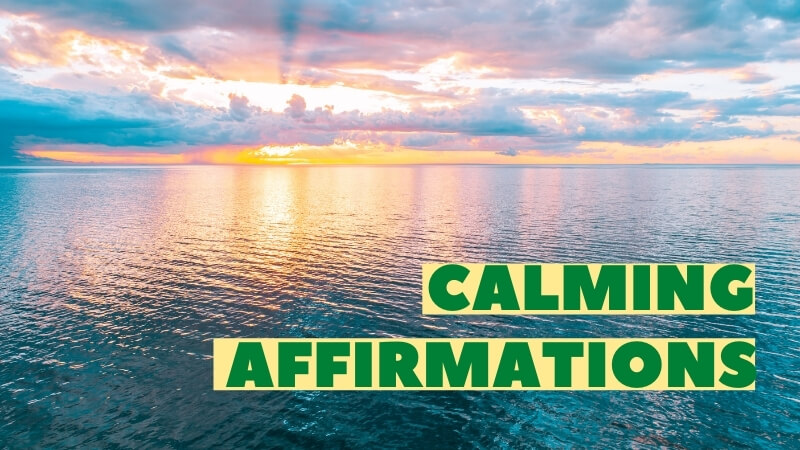 calming affirmations featured image