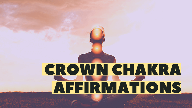 crown chakra affirmations featured image