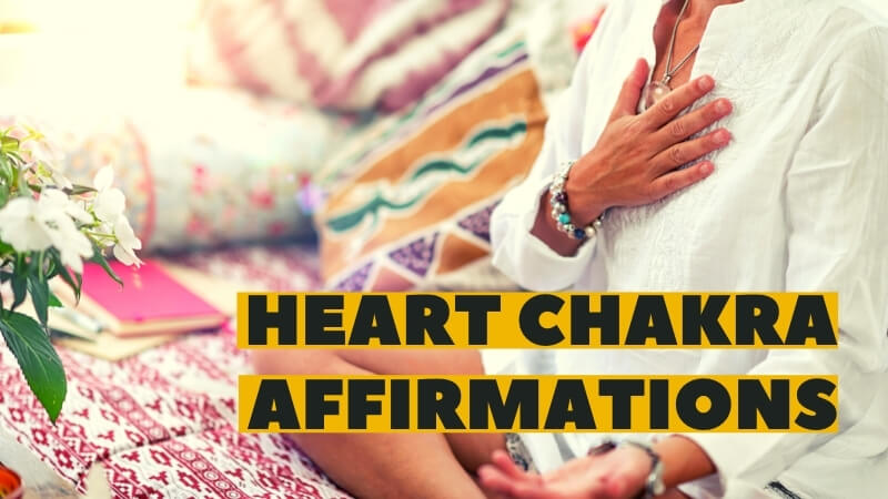 heart chakra affirmations featured image