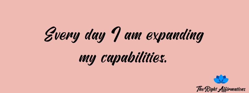 Self Improvement and Personal Growth Affirmations