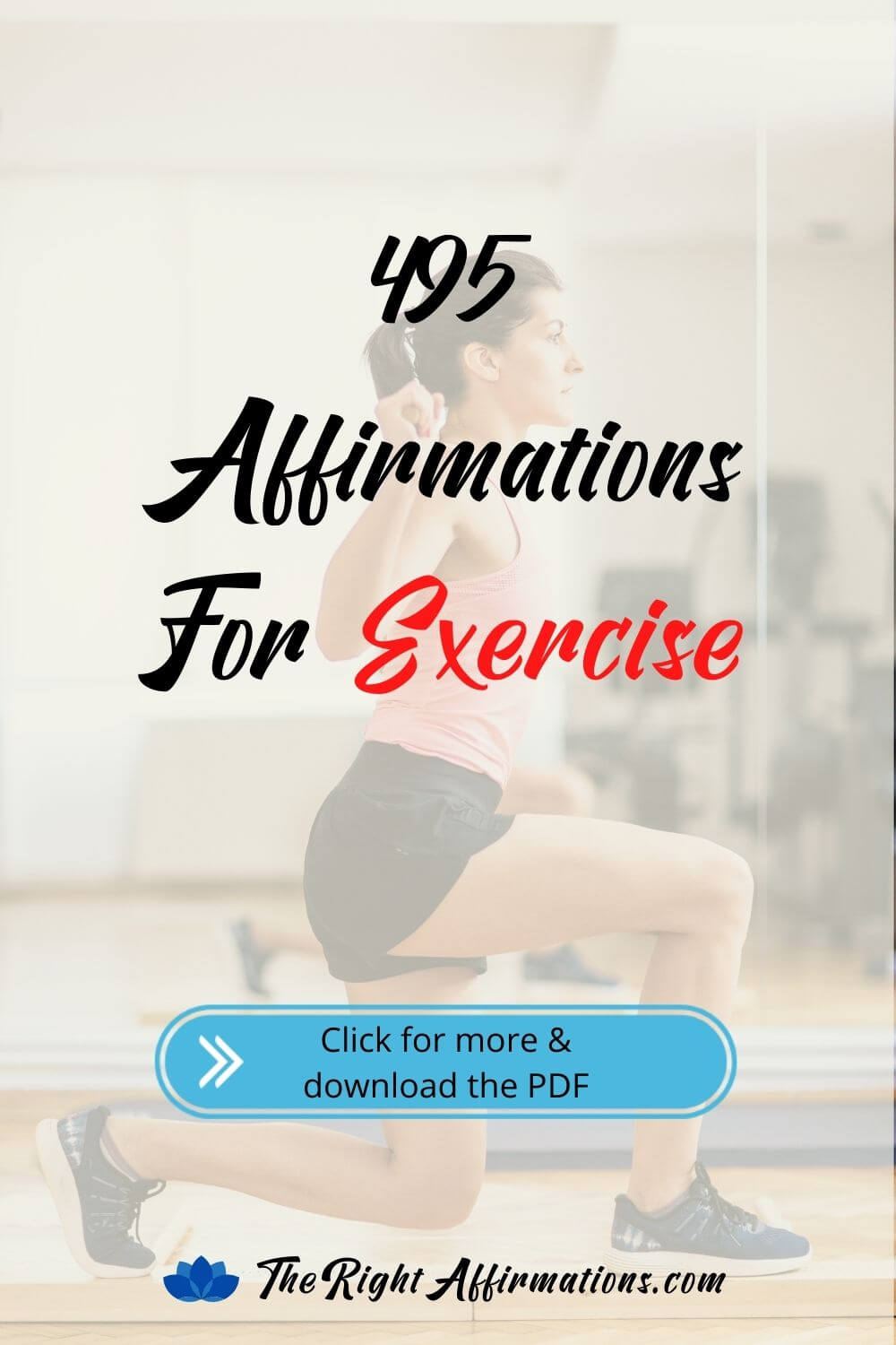 affirmations for exercise health and fitness pinterest