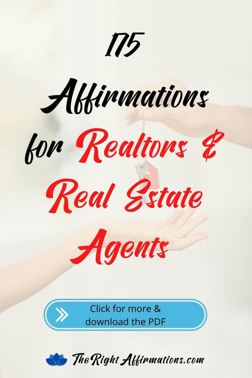 affirmations for realtors and real estate agents pinterest
