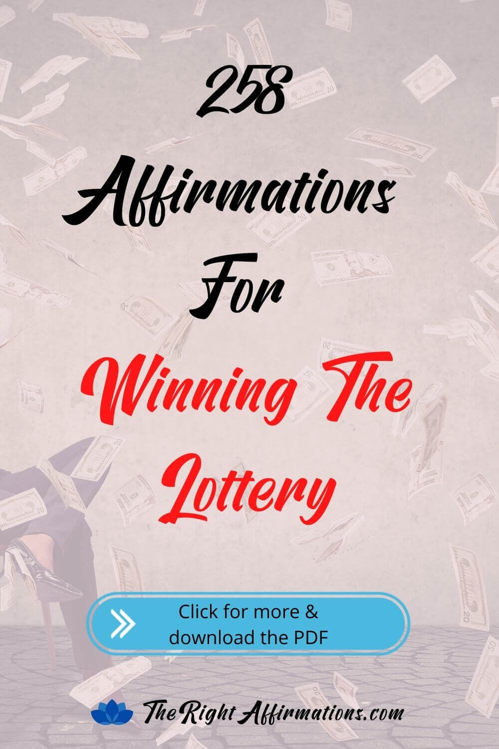 affirmations for winning the lottery pinterest