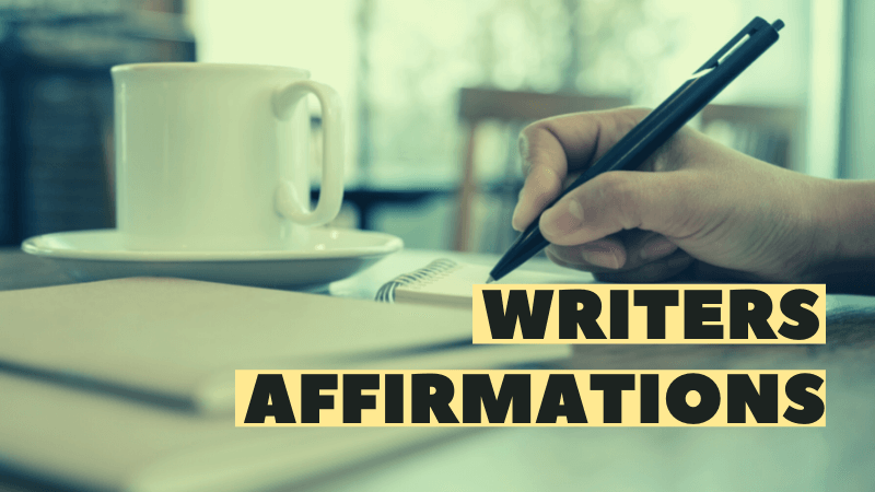affirmations for writers anxiety featured image