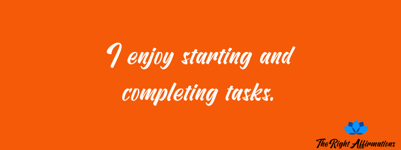 productivity affirmations quote