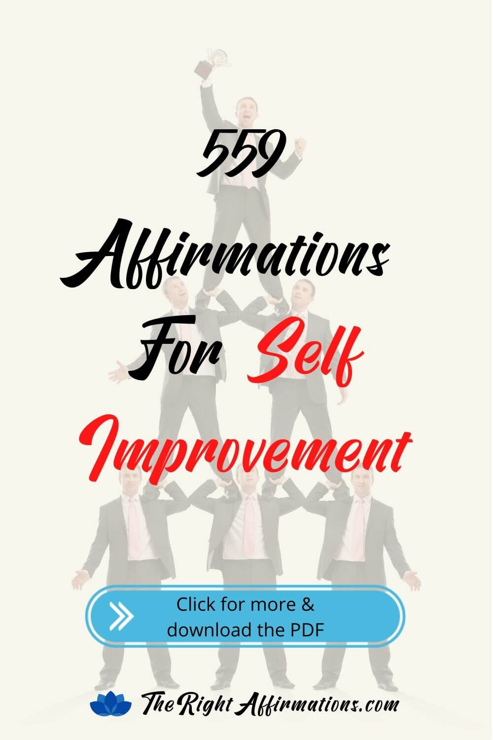 self improvement and personal growth affirmations pinterest