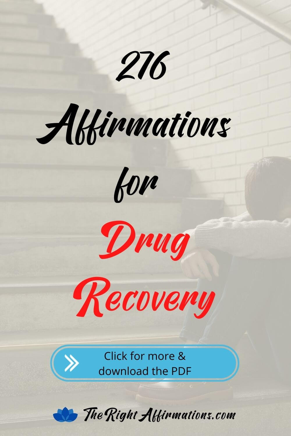 affirmations for drug recovery pinterest