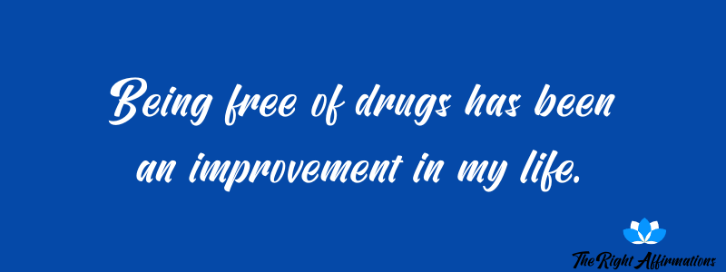 affirmations for drug recovery quotes