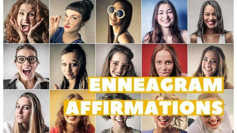 affirmations for enneagram types featured image