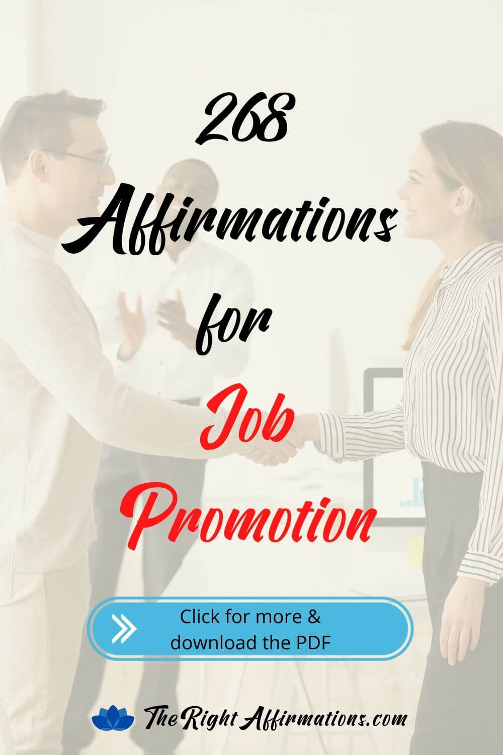 affirmations for getting promoted pinterest