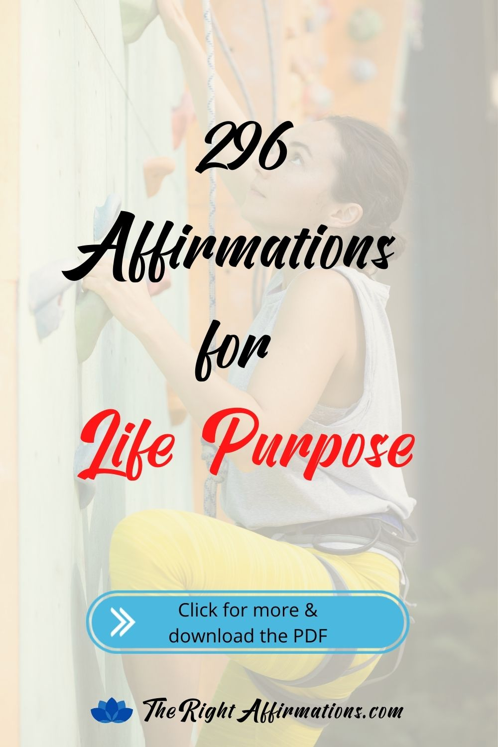 affirmations for life purpose pinterest