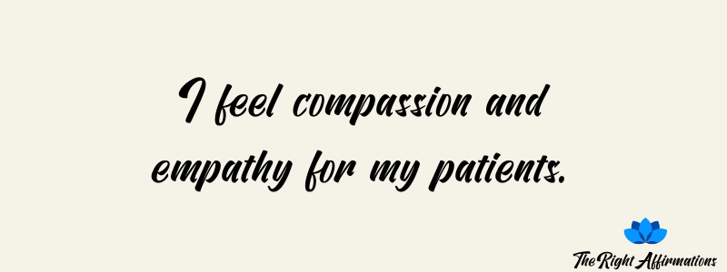 affirmations for nurses and healthcare professionals