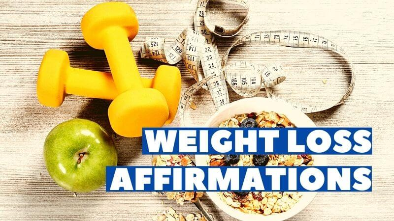 weight loss affirmations featured image