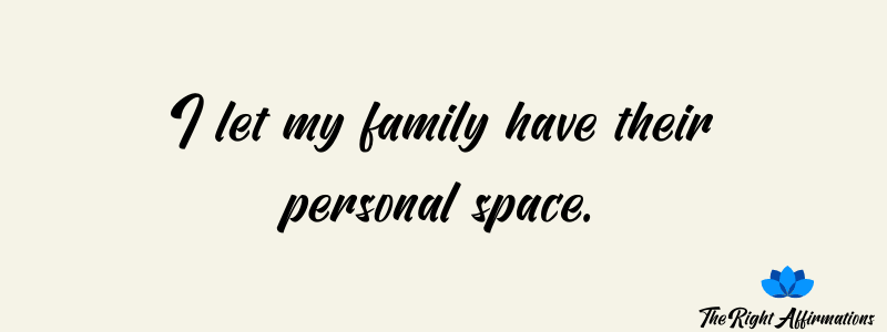 affirmations for a happy family