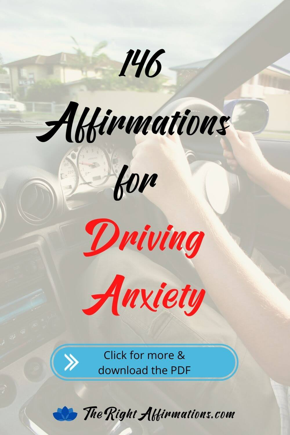 driving anxiety affirmations pinterest