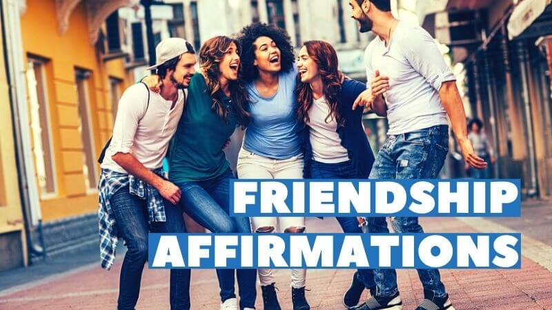 friendships affirmations featured image