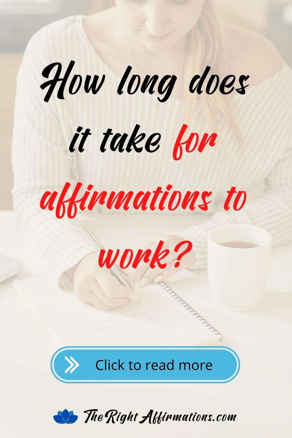 how long does it take for affirmations to work pinterest